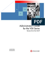Vsx Series Admin Guide for SCCP v8.6.2