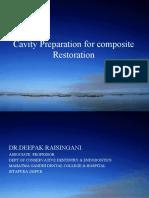 Composte Cavity Preparation