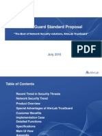 AhnLab TrusGuard Standard Proposal Eng
