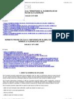C 107-7 - NORMATIV PRIVIND CALCULUL TERMOTEHNIC AL ELEMENTELOR DE CONSTRUCŢIE ALE CLĂDIRILOR