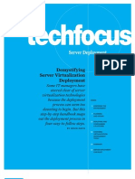 TechFocus Server Deployment