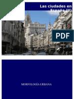 Las ciudades de España (II)