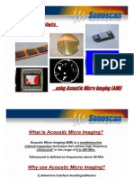 Houston Sonoscan Acoustic Microscopy