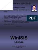 Winisis Step by Step
