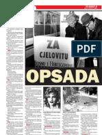 Hronologija opsade Sarajeva