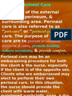 perineal care