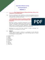 Marketing Management 2&3