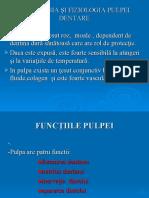 01 -02 Histologia Si Fiziologia Pulpei Dentare (Endod