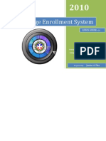 User's Manual College Enrollment System