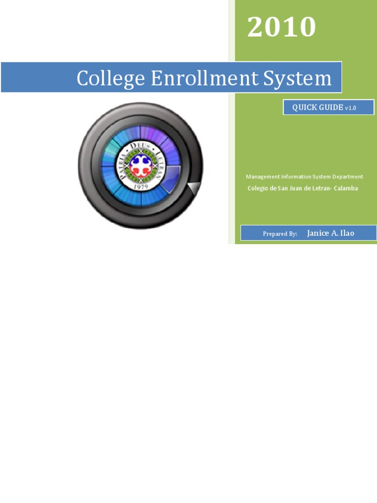 online enrollment system thesis introduction