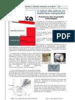Plaquette Calcul Composites