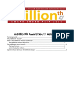 mBillionth Award Concept Note 2011