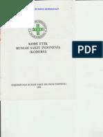 Kode Etik Rumah Sakit