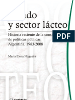 ESTADO y SECTOR LÁCTEO