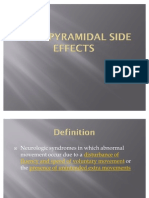 Extra Pyramidal Side Effects