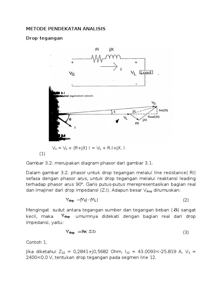 Metode pendekatan analisis drop tegangan ccuart Gallery