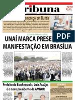 JORNAL TRIBUNA - EDIÇÃO 284 -  ABRIL DE 2011 - UNAÍ-MG