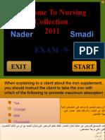 Exam 9 2011