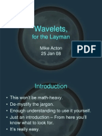 Files Wavelets for the Layman