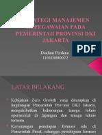 Strategi Manajemen Kepegawaian Pada Pemerintah Provisi Dki Jakarta