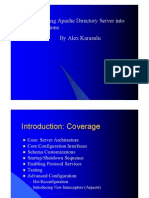 Alex Karasulu - Workshop Embed ApacheDS
