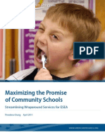 Maximizing the Promise of Community Schools