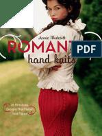 Free Pattern - Sweetheart Neckline Corset from Romantic Hand Knits by Annie Modesitt