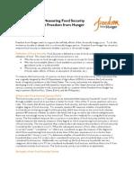 FFH Food Security_description