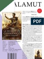 La muerte de Germánico
