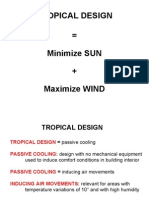 Tropical Design Lecture