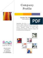 HunbulTex Corporate Profile
