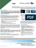 APDN Investor Factsheet