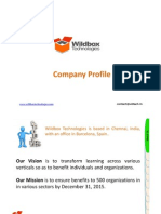 Wildbox Technologies Profile Final