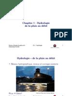 Chapitre 1 - Hydrologie