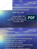 Deafness Sensineuronal
