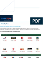 DTH India - Tata Sky DTH Channel Packages