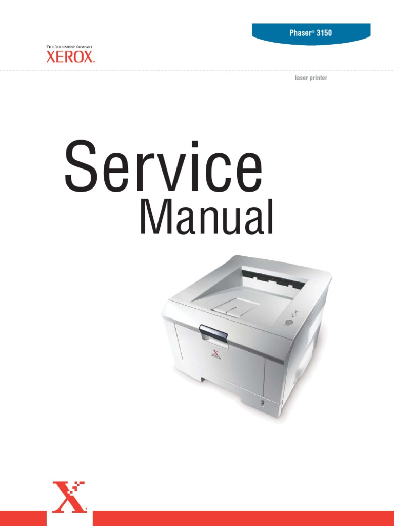 Xerox Phaser 3150 Service Manual | Ac Power Plugs And Sockets | Printer  (Computing)