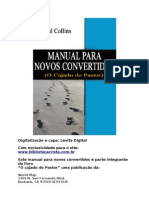 O Cajado Do Pastor - Manual Para Novos Convertidos - Paul Collins