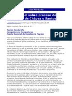 INFORMACIONES HONDURAS (nr. 781)