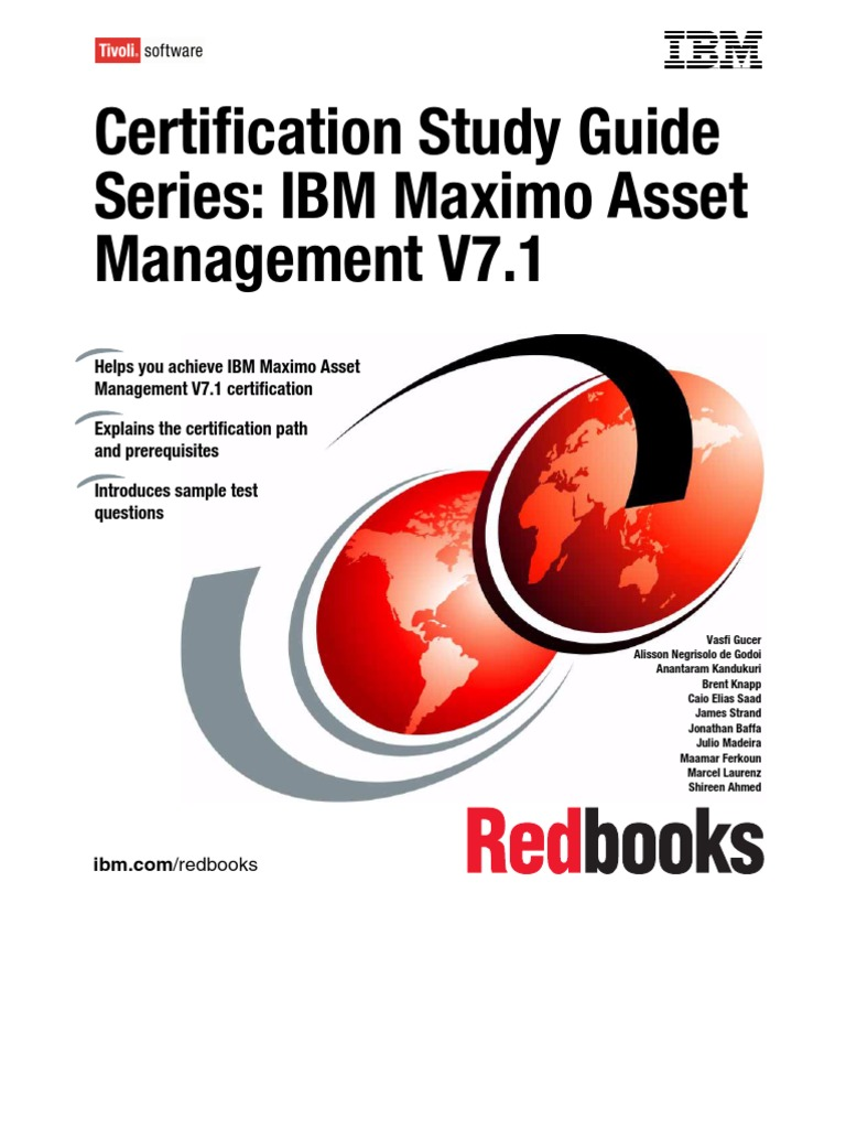 maximo certification study guide 7 1 professional certification rh scribd com IBM Maximo Icon IBM Maximo Documentation