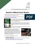 Austria Complete Cycle Tours