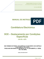 Manual de Instruções – Candidatura Electrónica  DCE; 2011.abr.25
