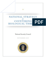 PPD2 National Strategy for Countering Bio Threats