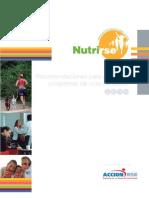 Recomendaciones para gestionar programas de vida saludable