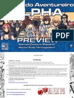 3D&T Alpha - Preview Definitivo do Manual do Aventureiro