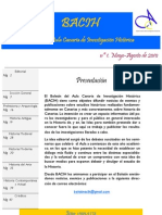 Boletín del Aula Canaria de Investigación Histórica nº 1 (BACIH 1) 2010