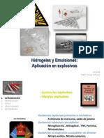 Hidrogeles y emulsiones