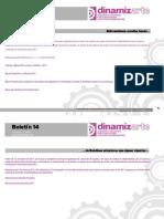 Boletín Dinamizarte 14