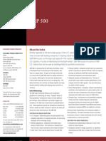 SP 500 Factsheet