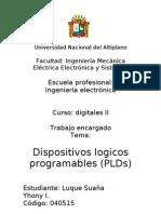 Dispositivos Logicos Programables (Plds)